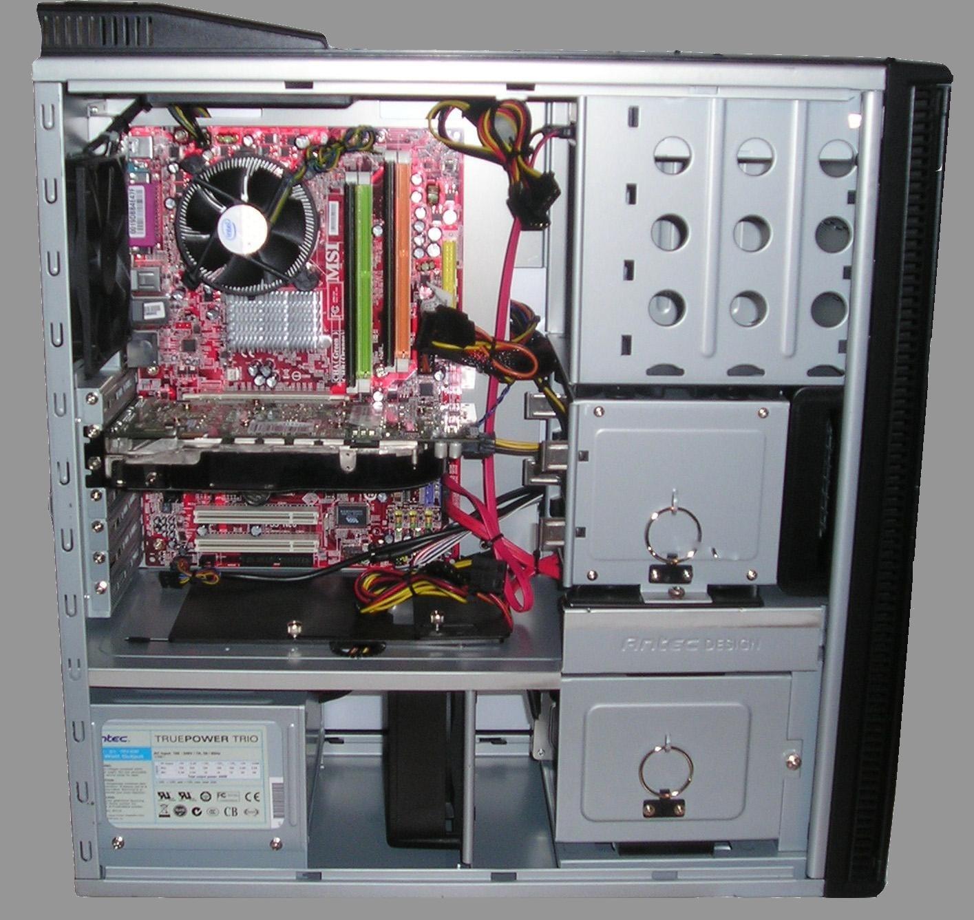Čistěte pravidelně PC od prachu