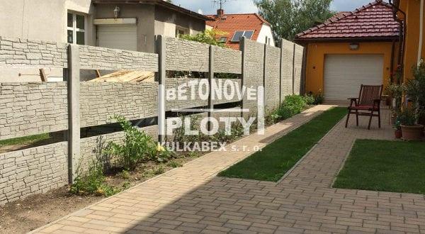 Designový a zároveň praktický plot