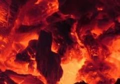 Brambory pečené v uhlí