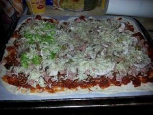 Domácí Pizza jako od Itala