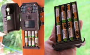 baterie fotopast