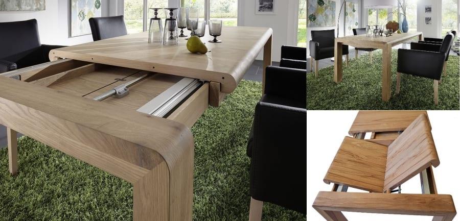 Stůl jako středobod jídelny