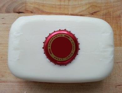 Klouzání mýdla po umyvadle